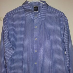 Brooks Brothers dress shirt. Men's Size 17. EUC.